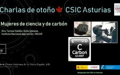 Las Charlas de Otoño – Mujeres de Ciencia y de Carbón – Dra. Teresa Valdés