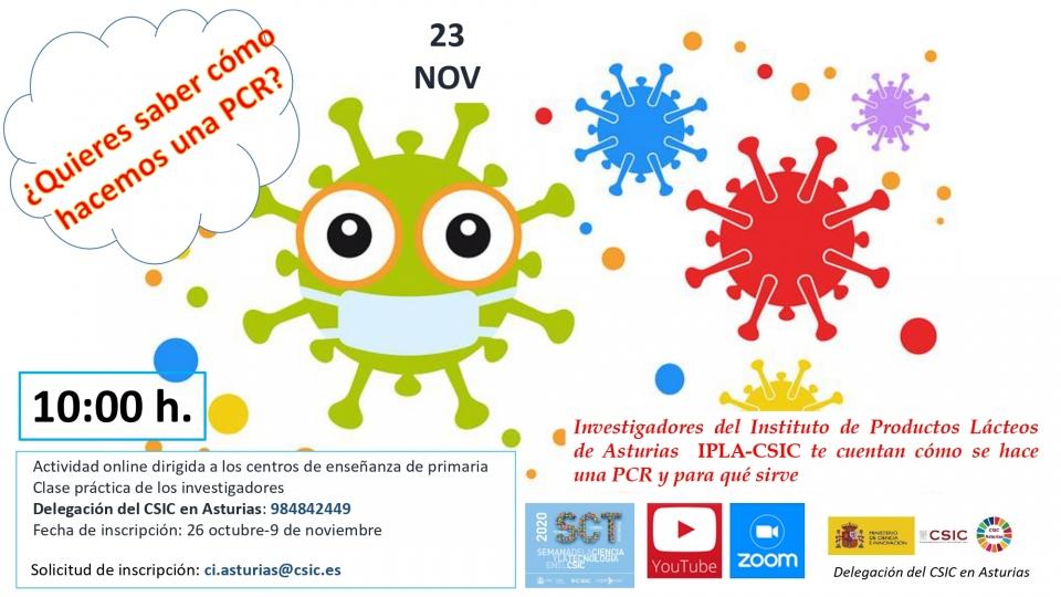 Semana de la Ciencia y la Tecnología en el CSIC 2020: «La ciencia en tiempos de pandemia»