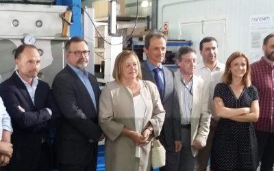 El Ministro de Ciencia, Pedro Duque visita el Centro de Investigación en Nanociencia y Nanomateriales CINN
