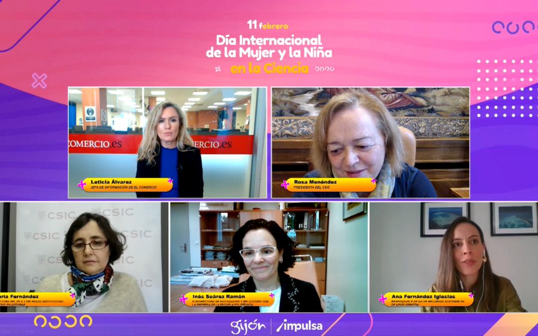 Mesa redonda organizada por El Comercio en el «Día Internacional de la Mujer y la Niña en la Ciencia»