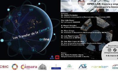 Transfer «Open Lab: Ciencia y Empresa. Claves para la innovación»