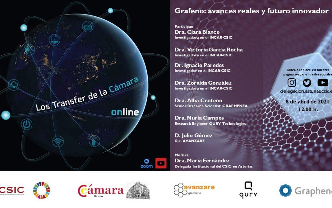 Transfer: «Grafeno. Avances reales y futuro innovador»