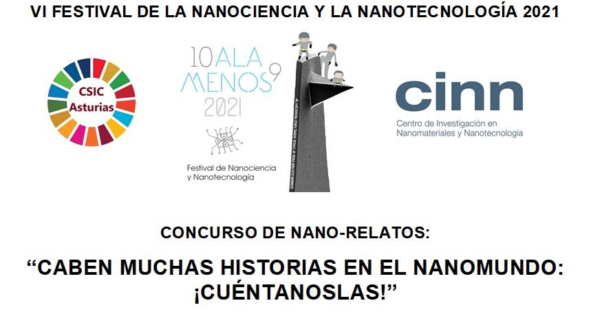 VI FESTIVAL DE LA NANOCIENCIA Y LA NANOTECNOLOGÍA 2021 – CONCURSO DE NANO-RELATOS