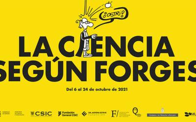 'La ciencia según Forges', en el Museo Jurásico de Asturias