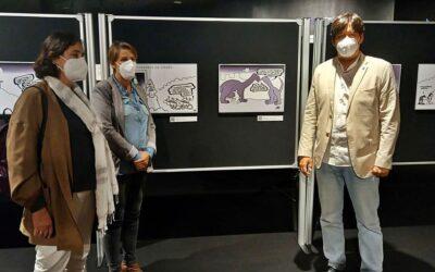 Las viñetas de Forges apoyan la ciencia desde el Museo Jurásico